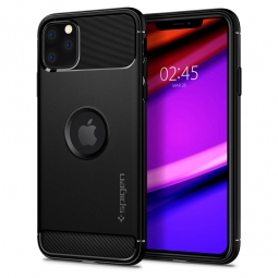 SPIGEN RUGGED ARMOR IPHONE 11 PRO MAX MATTE BLACK