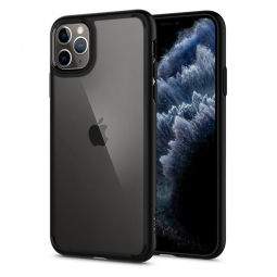 SPIGEN ULTRA HYBRID IPHONE 11 PRO MAX MATTE BLACK