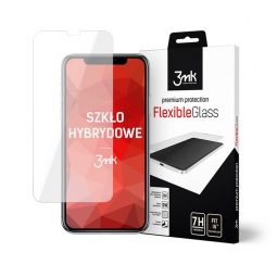SZKŁO HYBRYDOWE 3MK FLEXIBLE GLASS IPHONE 11 PRO