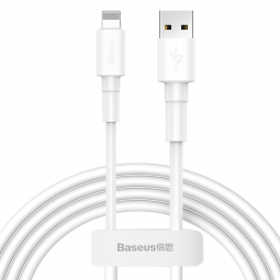 BASEUS MINI WHITE LIGHTNING CABLE 100CM WHITE
