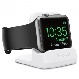 SPIGEN S350 NIGHT STAND APPLE WATCH 38/40/42/44 WHITE