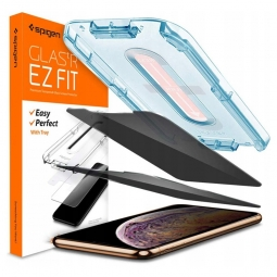 SZKŁO HARTOWANE SPIGEN ALM GLASS.TR IPHONE 11 PRIVACY