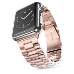 TECH-PROTECT STAINLESS APPLE WATCH 1/2/3/4/5 (42/44MM) ROSE GOLD