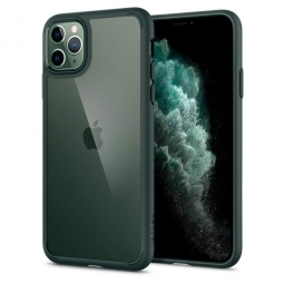 SPIGEN ULTRA HYBRID IPHONE 11 PRO MIDNIGHT GREEN