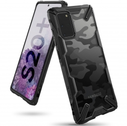 RINGKE FUSION X GALAXY S20+ PLUS CAMO BLACK
