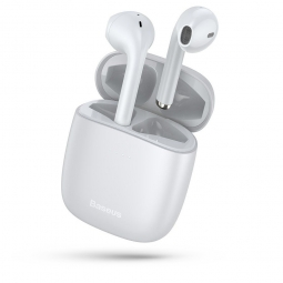 BASEUS W04 TWS WIRELESS EARPHONE WHITE