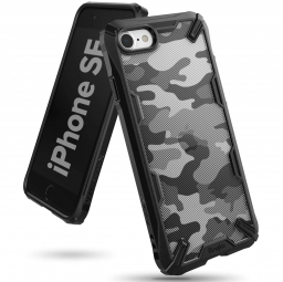 RINGKE FUSION X IPHONE 7/8/SE 2020 CAMO BLACK