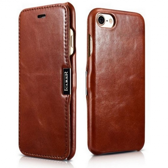 ICARER VINTAGE IPHONE 7/8/SE 2020 BROWN