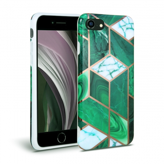 TECH-PROTECT MARBLE IPHONE 7/8/SE 2020 GREEN