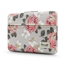 CANVASLIFE SLEEVE LAPTOP 13-14 WHITE ROSE