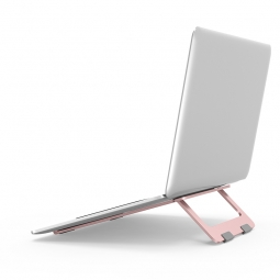TECH-PROTECT STABLE UNIVERSAL LAPTOP STAND ROSE