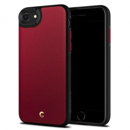 SPIGEN CIEL LEATHER BRICK IPHONE 7/8/SE 2020 RED