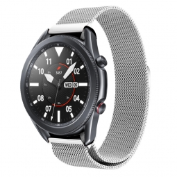 TECH-PROTECT MILANESEBAND SAMSUNG GALAXY WATCH 3 45MM SILVER