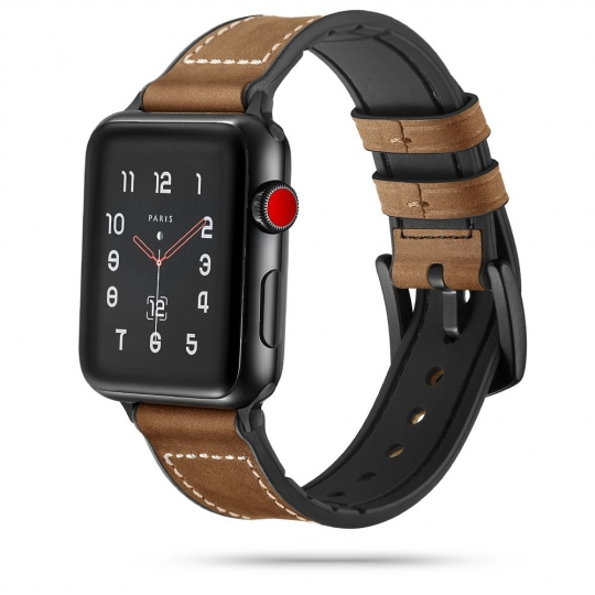 TECH-PROTECT OSOBAND APPLE WATCH 2/3/4/5/6/SE (42/44MM) VINTAGE BROWN