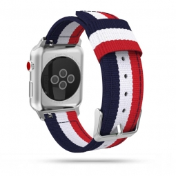 TECH-PROTECT WELLING APPLE WATCH 2/3/4/5/6/SE (42/44MM) NAVY/RED