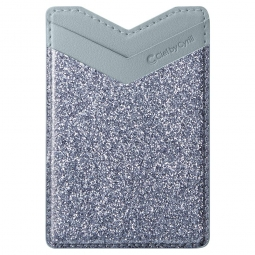 SPIGEN CYRILL SHINE WALLET GLITTER BLUE GREY