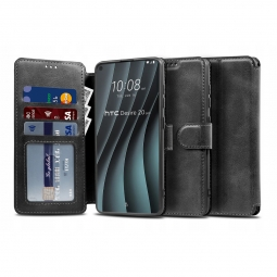 TECH-PROTECT WALLET HTC DESIRE 20 PRO BLACK