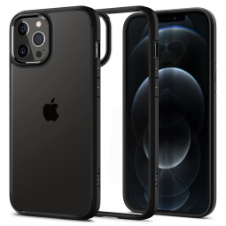 SPIGEN ULTRA HYBRID IPHONE 12 PRO MAX MATTE BLACK