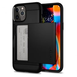 SPIGEN SLIM ARMOR CS IPHONE 12 PRO MAX BLACK