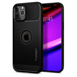 SPIGEN RUGGED ARMOR IPHONE 12/12 PRO MATTE BLACK