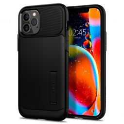 SPIGEN SLIM ARMOR IPHONE 12/12 PRO BLACK