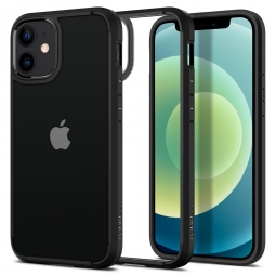 SPIGEN ULTRA HYBRID IPHONE 12 MINI MATTE BLACK