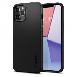 SPIGEN THIN FIT IPHONE 12/12 PRO BLACK
