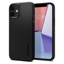 SPIGEN THIN FIT IPHONE 12 MINI BLACK