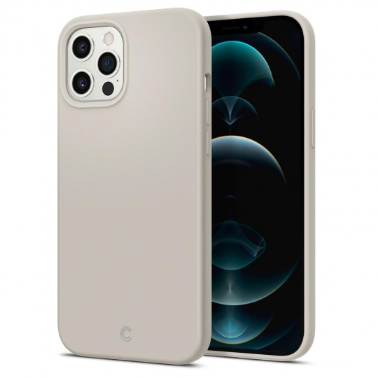 SPIGEN CYRILL SILICONE IPHONE 12/12 PRO STONE