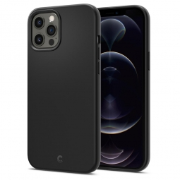 SPIGEN CYRILL SILICONE IPHONE 12/12 PRO BLACK