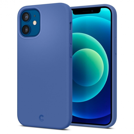 SPIGEN CYRILL SILICONE IPHONE 12 MINI LINEN BLUE