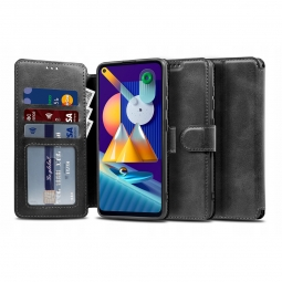 TECH-PROTECT WALLET GALAXY M11 BLACK