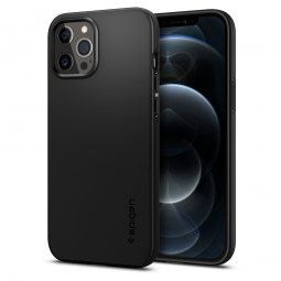 SPIGEN THIN FIT IPHONE 12 PRO MAX BLACK