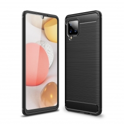 TECH-PROTECT TPUCARBON GALAXY A42 5G BLACK