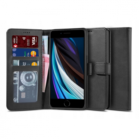 "TECH-PROTECT WALLET ""2"" IPHONE 7/8/SE 2020 BLACK"