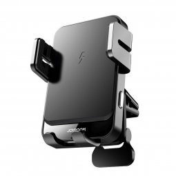 JOYROOM JR-ZS219 VENT CAR MOUNT WIRELESS CHARGER BLACK