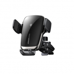 JOYROOM JR-ZS248 VENT CAR MOUNT WIRELESS CHARGER BLACK