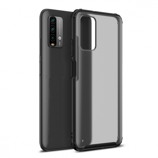 TECH-PROTECT HYBRIDSHELL XIAOMI POCO M3 FROST BLACK