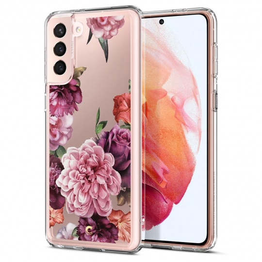 SPIGEN CYRILL CECILE GALAXY S21 ROSE FLORAL
