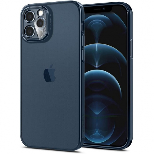 SPIGEN OPTIK CRYSTAL IPHONE 12 PRO CHROME PACIFIC
