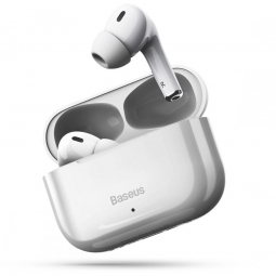 BASEUS W3 TWS WIRELESS EARPHONE WHITE