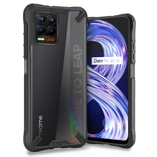 TECH-PROTECT RZANTS REALME 8/8 PRO BLACK