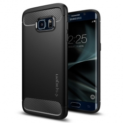 SPIGEN ARMOR RUGGED GALAXY S7 EDGE BLACK