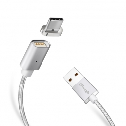 ELOUGH E04 MAGNETIC TYPE-C CABLE 100CM SILVER