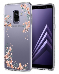 SPIGEN LIQUID CRYSTAL GALAXY A8 2018 BLOSSOM NATURE