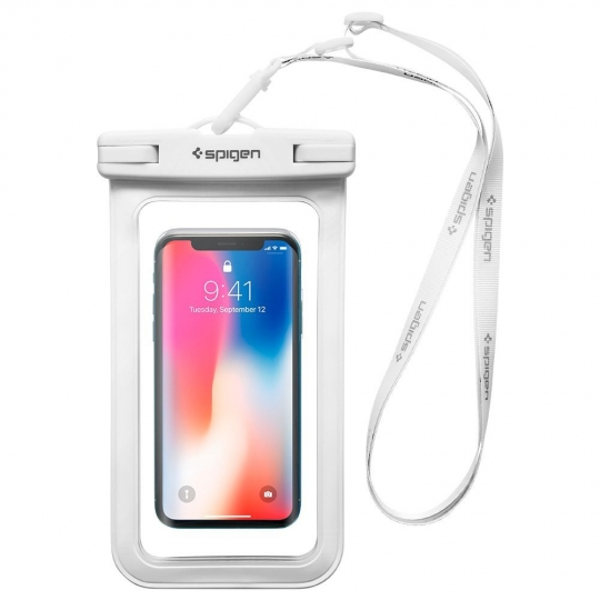 SPIGEN A600 UNIVERSAL WATERPROOF CASE WHITE