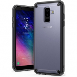 RINGKE FUSION GALAXY A6+ PLUS 2018 SMOKE BLACK